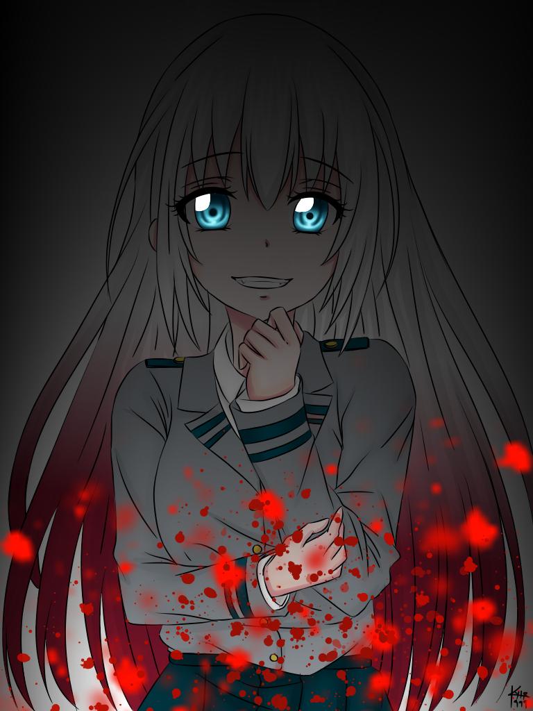 Shizuku Todoroki Illust of Kurumi999 oc MyHeroAcademia