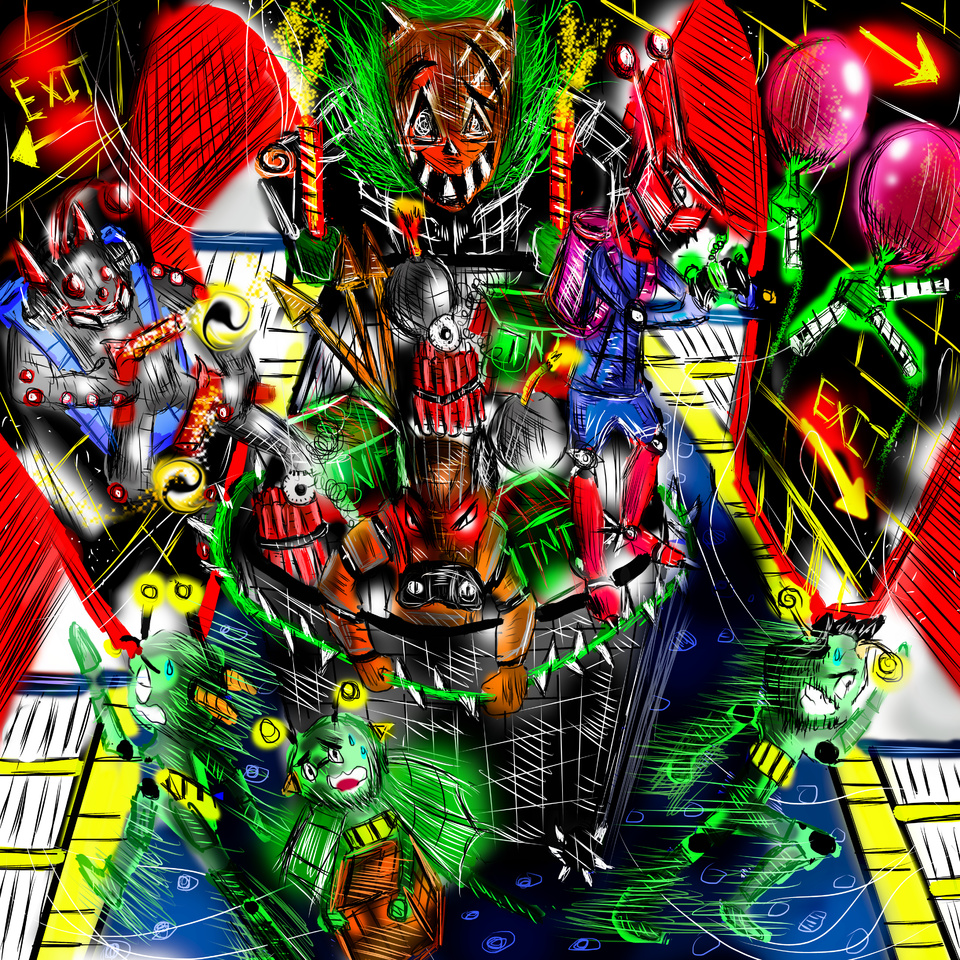 The madman of the carnival car Illust of AcP February2021_Fantasy