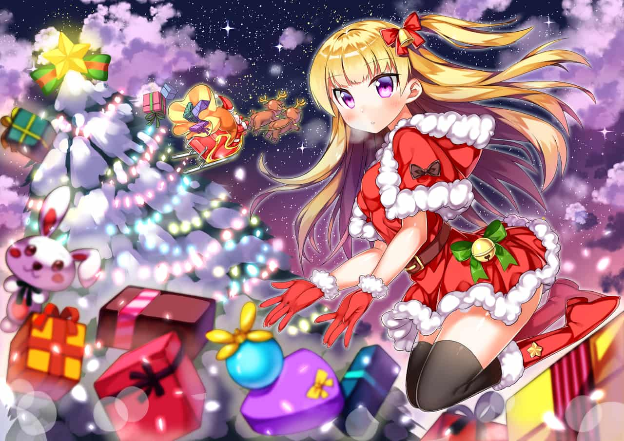 圣诞少女 Illust of 炭酸人間