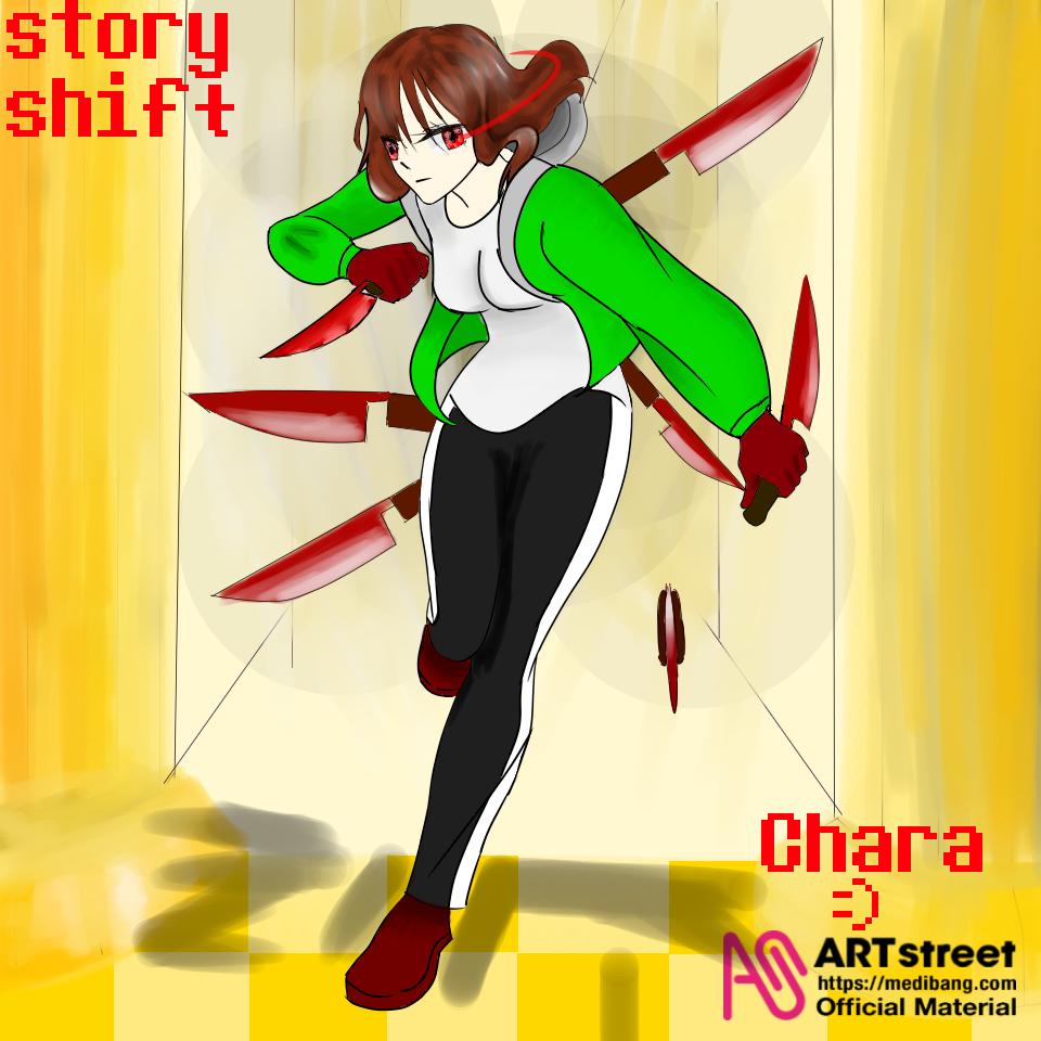 스토리쉬프트 차라 Illust of ☠나이트메어샌즈☠ tracedrawing medibangpaint storyshift 스토리쉬프트 차라
