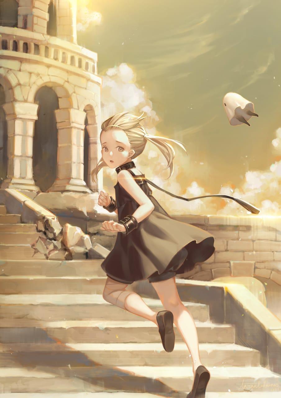 NieR Re[in]carnation Illust of Tarantulaines NieR:Automata girl NieR_Re[in]carnation 蘿莉