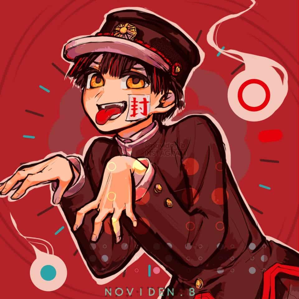 Hanako-kun Illust of 00novi Toilet-boundHanako-kun manga huevember2019 huevember 花子くん 花子くんアニメ 七不思議