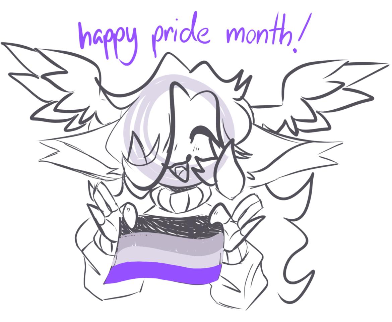 happy pride month! Illust of umbriiel umbriiel