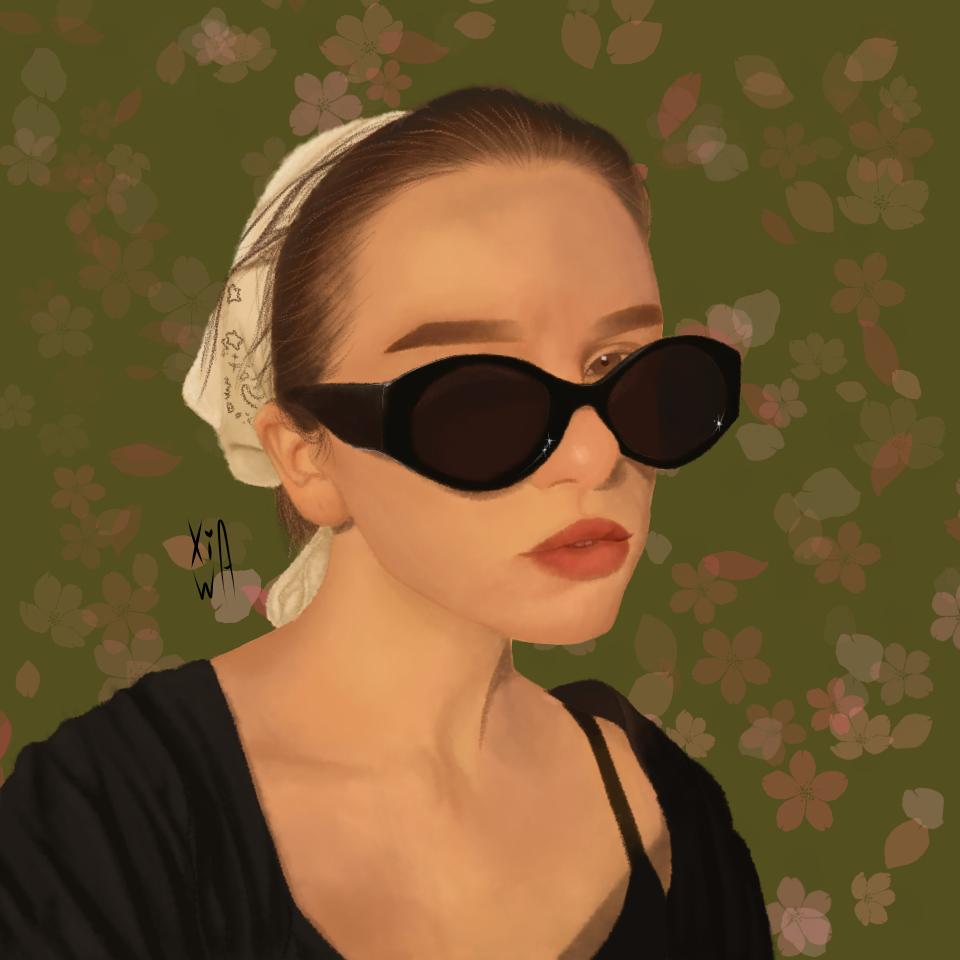 Illust of (っ◔◡◔)っ ♥ XiaWa ♥ oc art чертеж girl оригинал digital cute illustration портрет medibangpaint