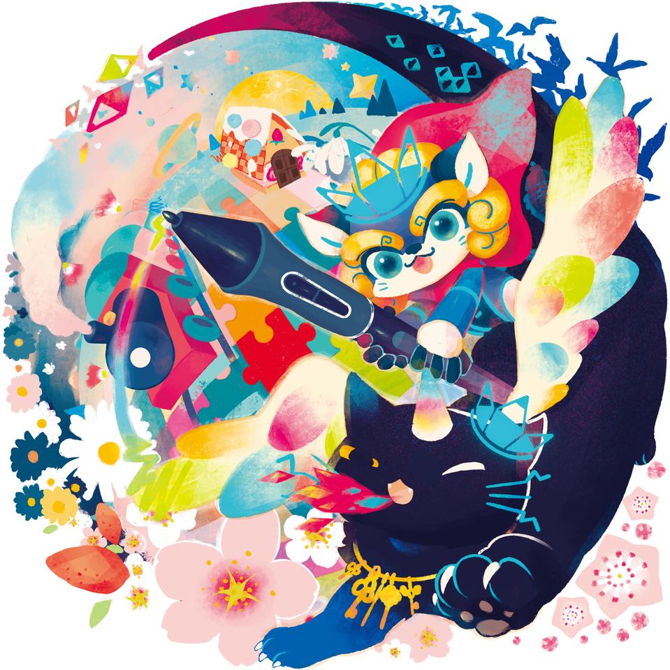 ファンタジーの旅 Illust of みりん fantasy HuionDesign