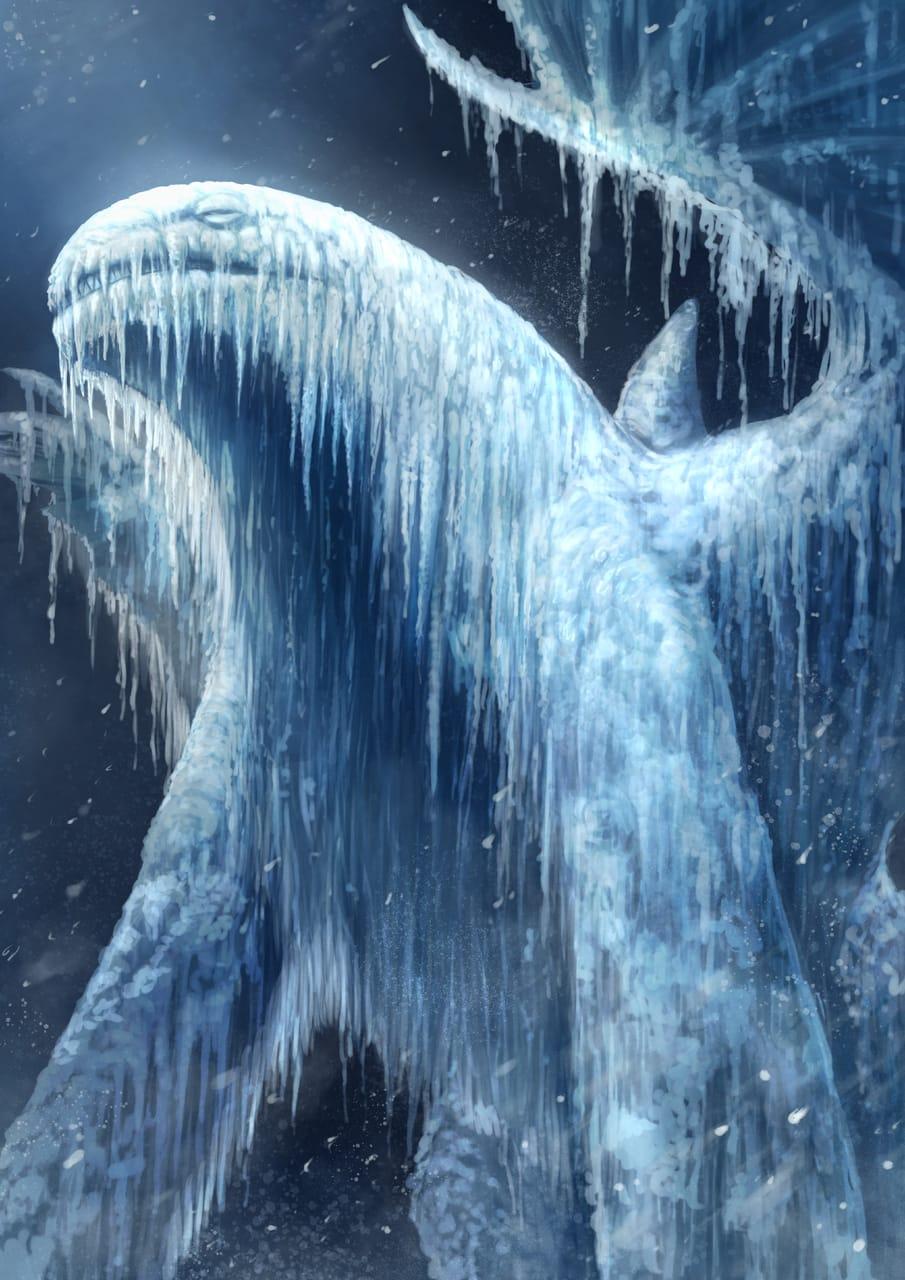 冷凍的惡魔化鯨雨