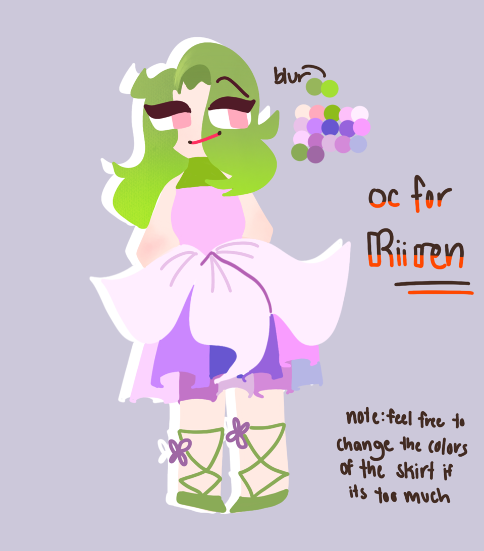 OCs for RiiRen (help me) Illust of DreamiiKuri | Drèam mode©️ adopt drawing lineless oc