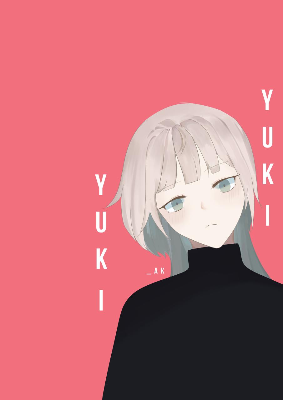 Yuki Illust of _Aqnes medibangpaint girl digital illustration oc