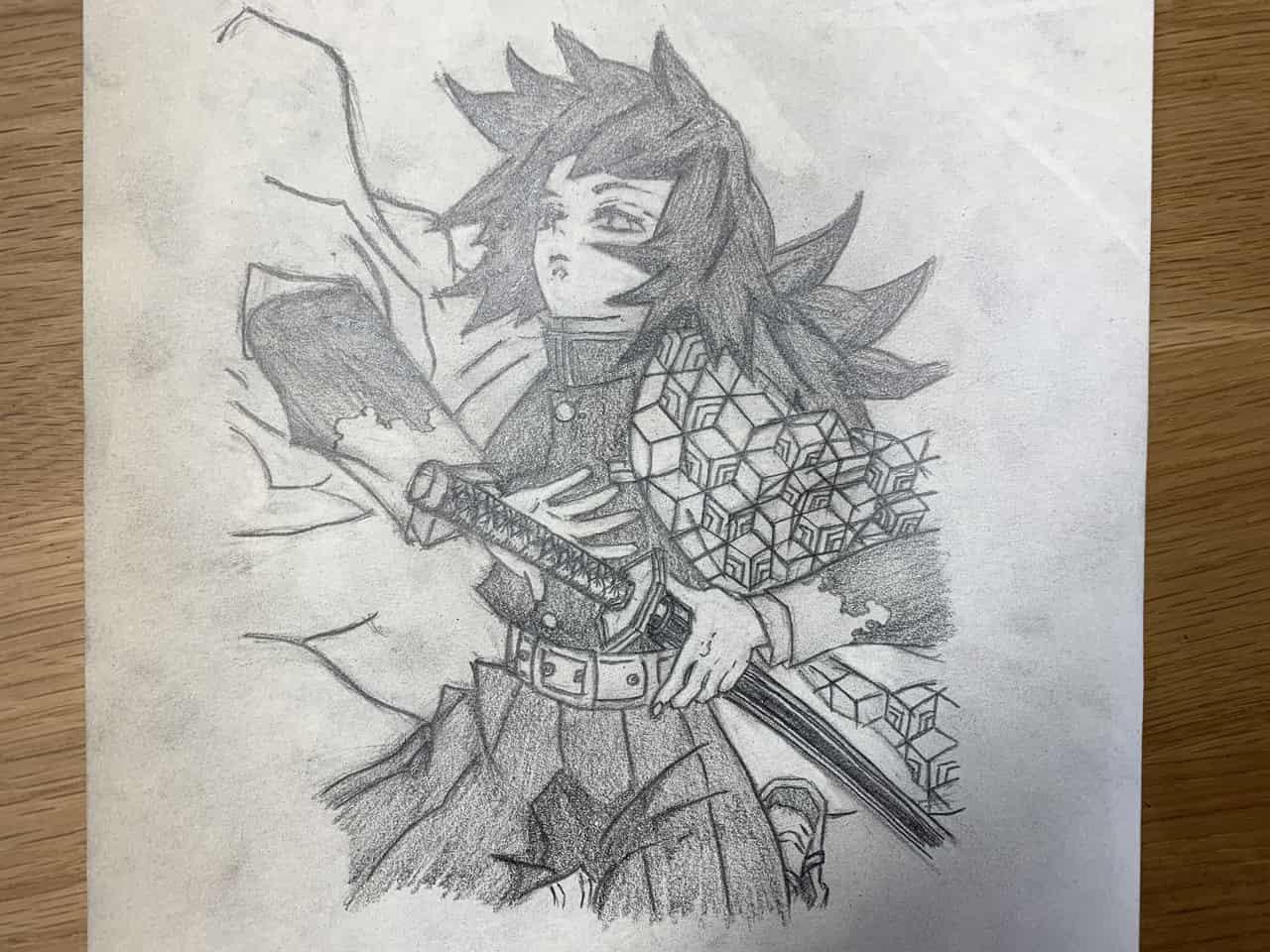 鬼滅の刃 富岡義勇 えんぴつ Illust of 那輝和 DemonSlayerFanartContest KimetsunoYaiba