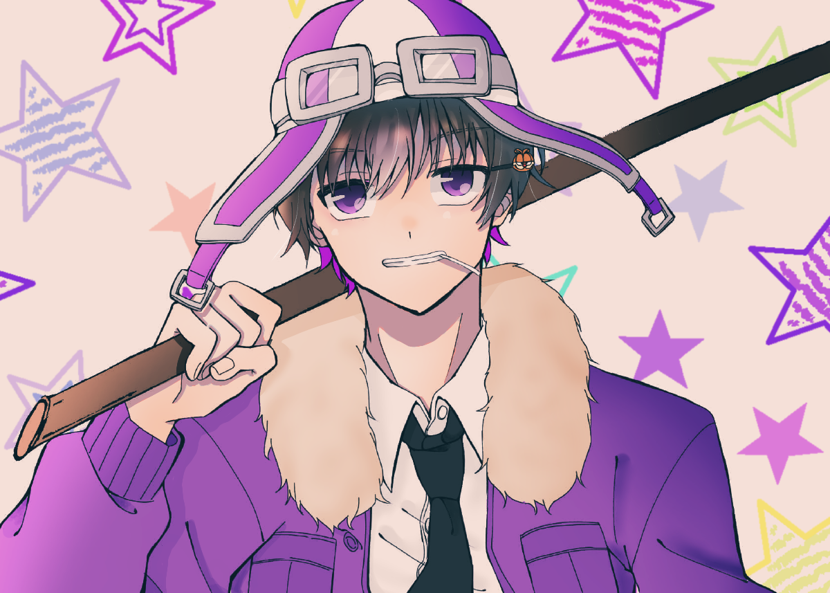 線画かりました!! Illust of けいみり ○○の主役は我々だ! line_art ショッピ purple