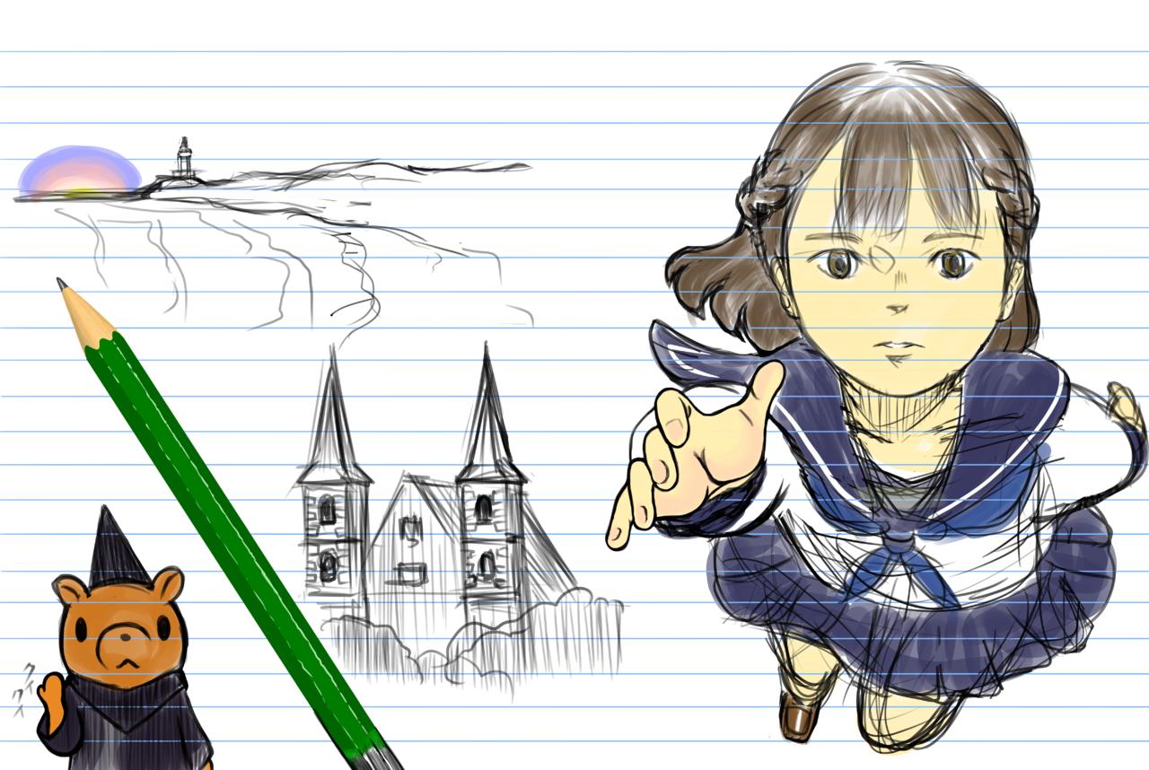 カバーイラストコンテスト用イラスト Illust of シルゥ ART_street_Illustration_Book_Contest medibangpaint