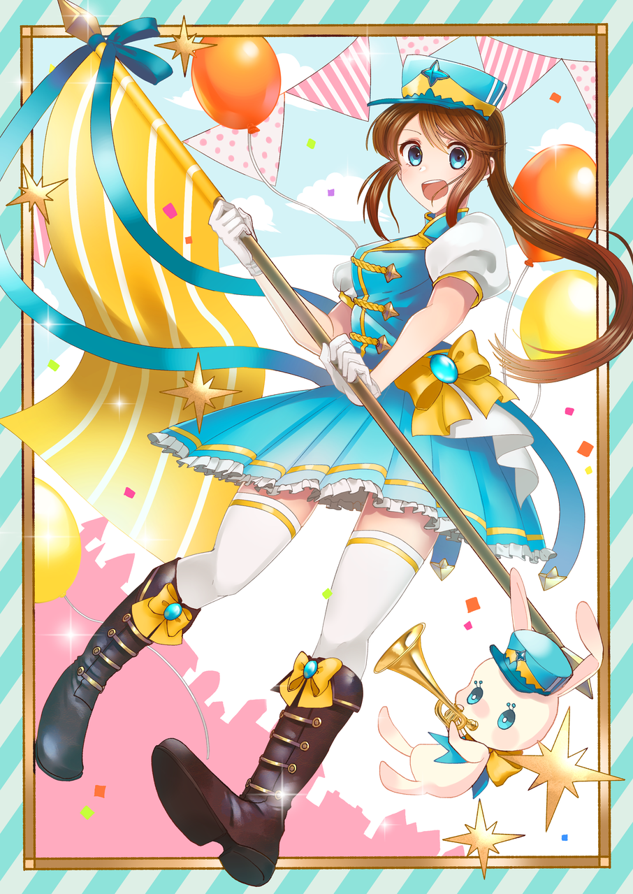 エール!! Illust of 和音 May.2020Contest:Cheering 応援 girl original