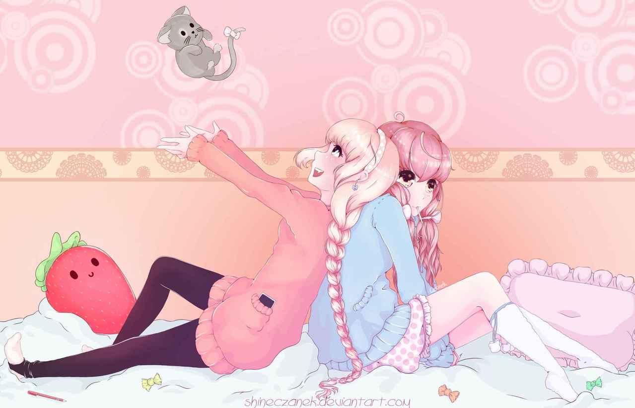 3xS - Sweet Sweeter Sweetest Illust of Czanek candy anime bang medi girls manga madibangpaint sweet