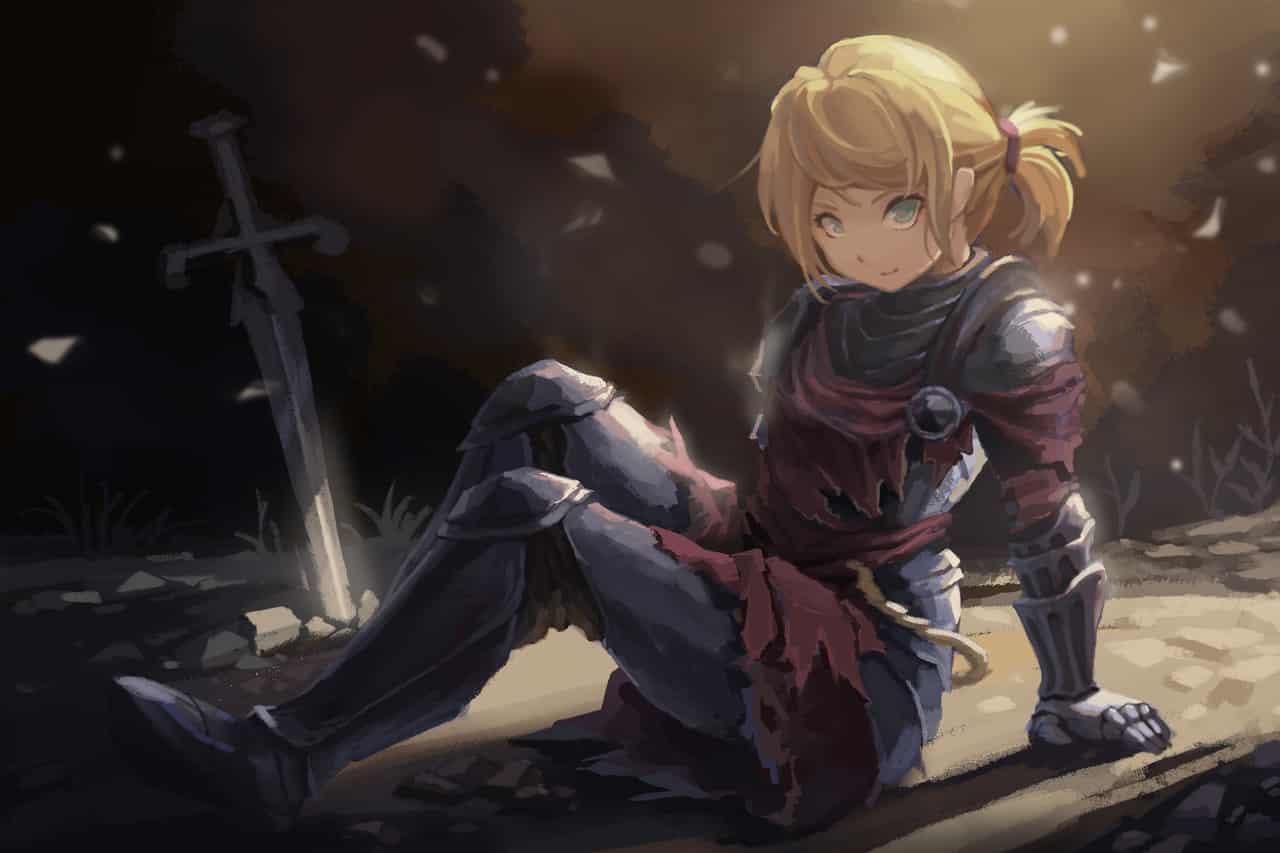 ダークソウル:ロスリックの女騎士 Illust of 千風島きのと 騎士 ダークソウル