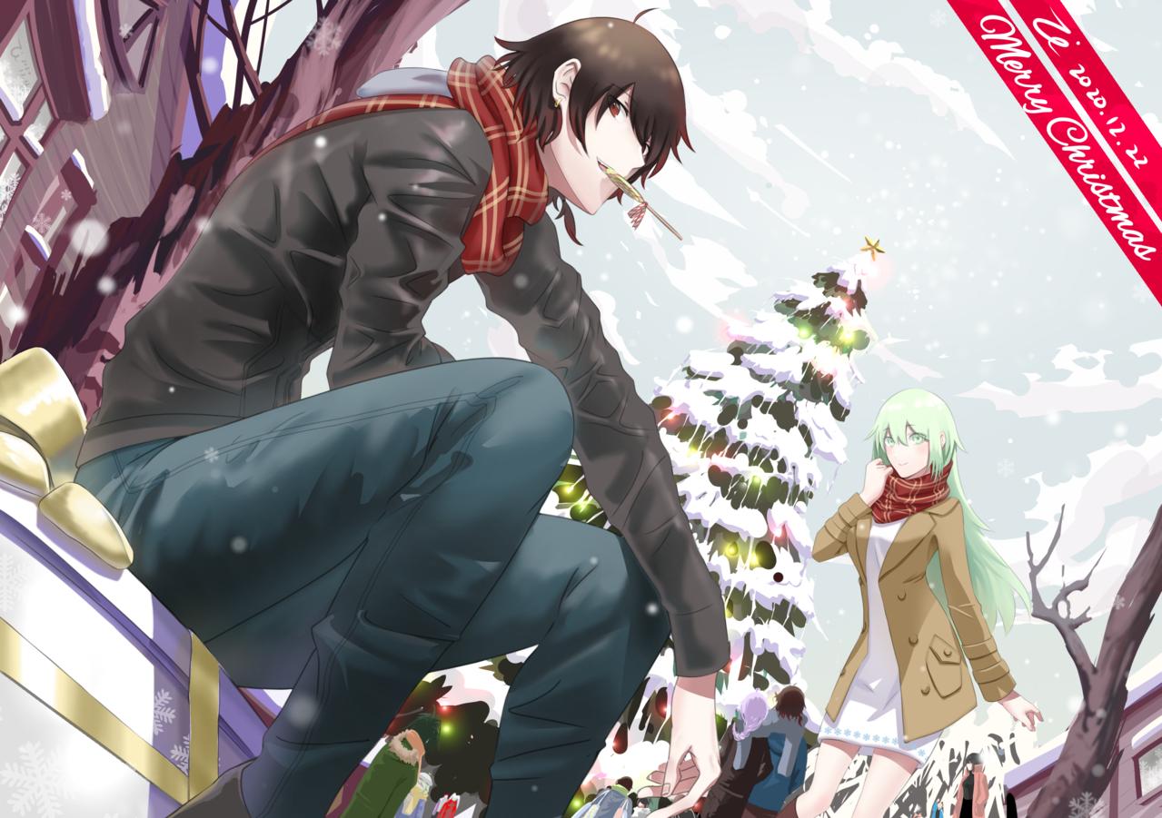 聖誕節 Illust of Zi December2020_Contest:Santa Christmas original oc