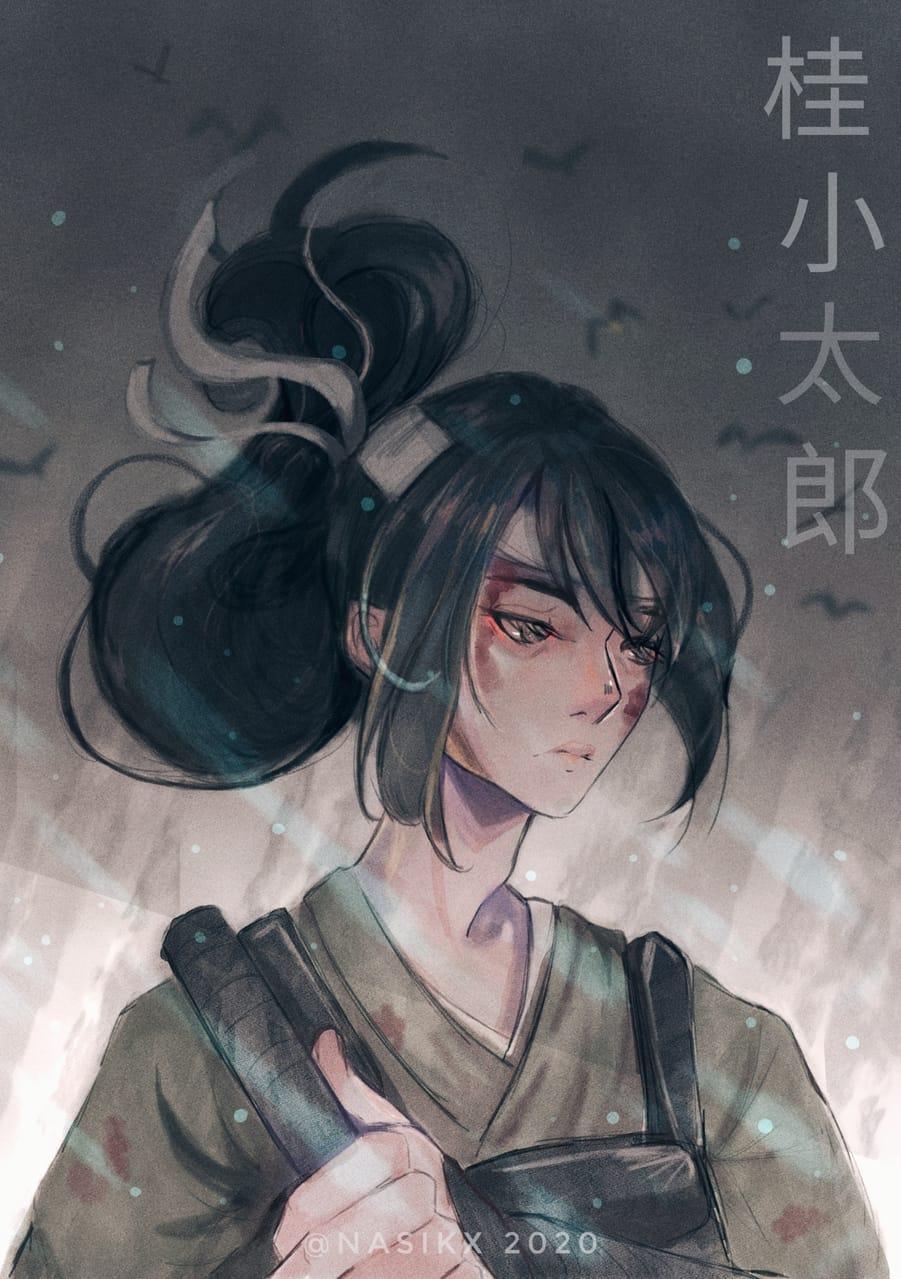 桂 Illust of Nasikx Emo CLIPSTUDIOPAINT fanart 桂小太郎 anime Gintama animefanart samurai