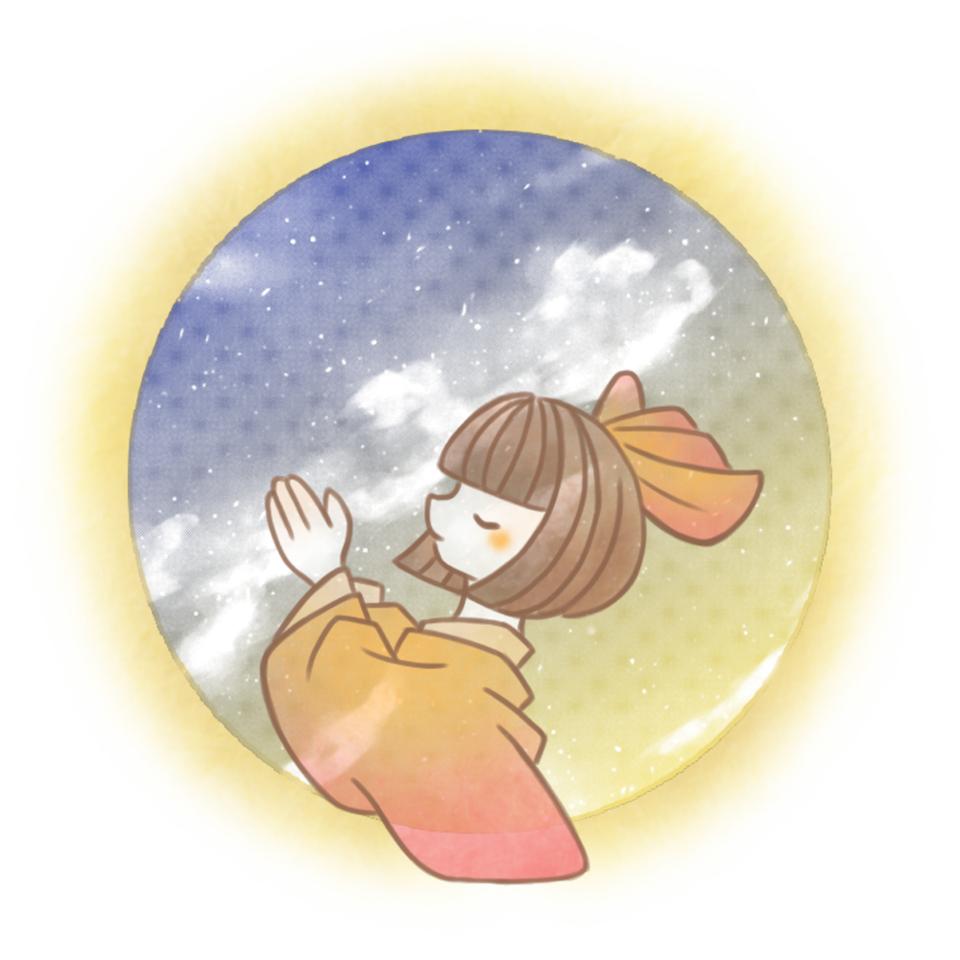 金魚の祈り。 Illust of 兎卯子 girl Japanese_style original kimono digital