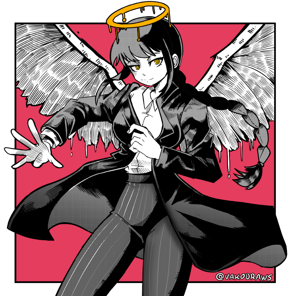 Miss Makima Illust of VakoDraws character drawing makima manga illustration ChainsawMan
