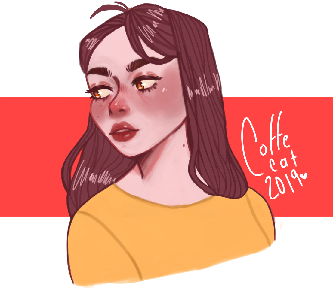 art Illust of coffecat medibangpaint