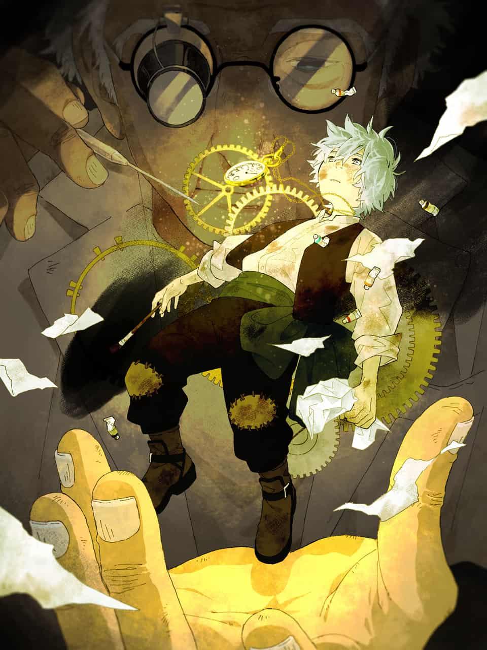 時計の少年。 Illust of ハルヒマチ GOMABOOKS_Contest