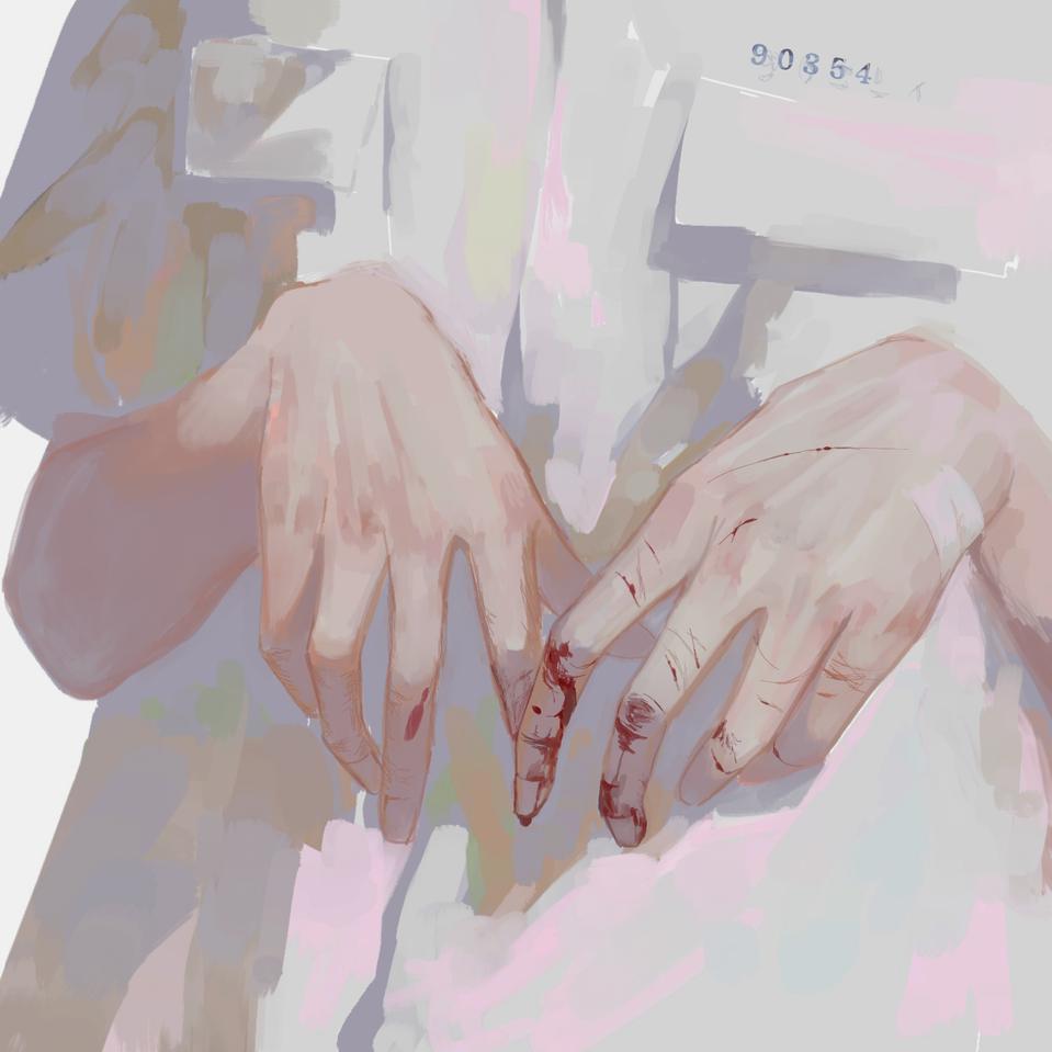 RIGHT-HANDED  Illust of 雀 medibangpaint uniform boy original