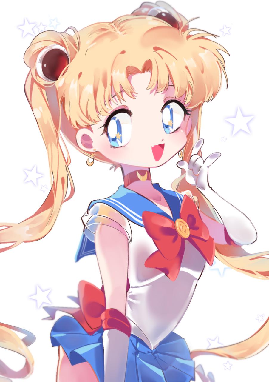 月野うさぎ Illust of Tongsyu UsagiTsukino PrettyGuardianSailorMoon sailormoonredraw sailor_uniform