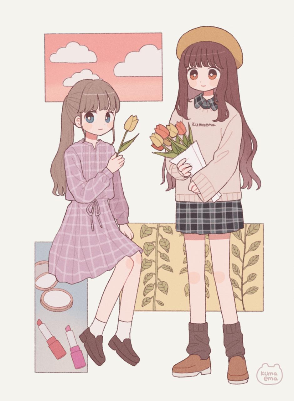 ☆ Illust of emma girl original