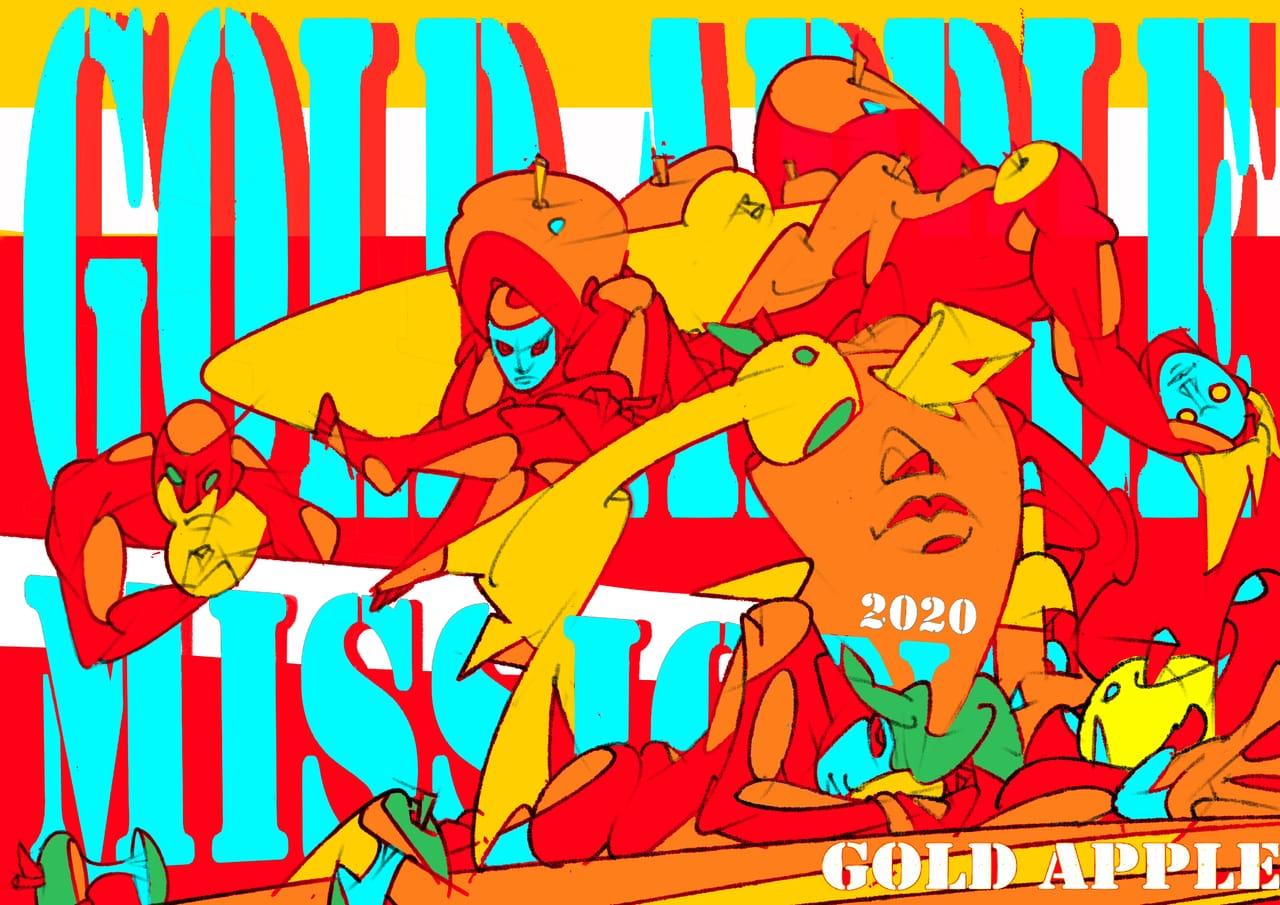 GOLD APPLE 蘋果人 Illust of GOMPON October2020_Contest:Food