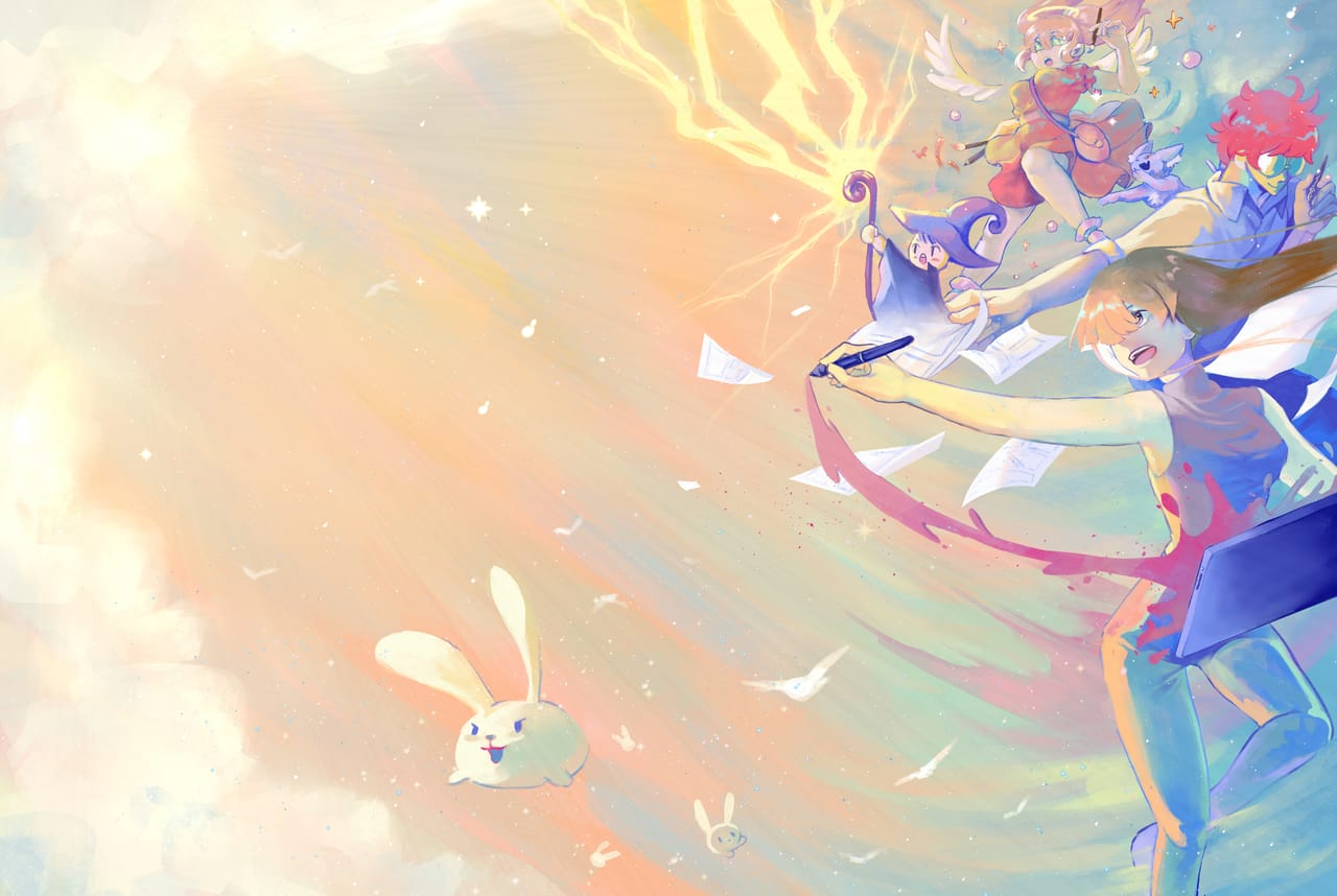 Imagination and Dream Illust of K28 ART_street_Illustration_Book_Contest original