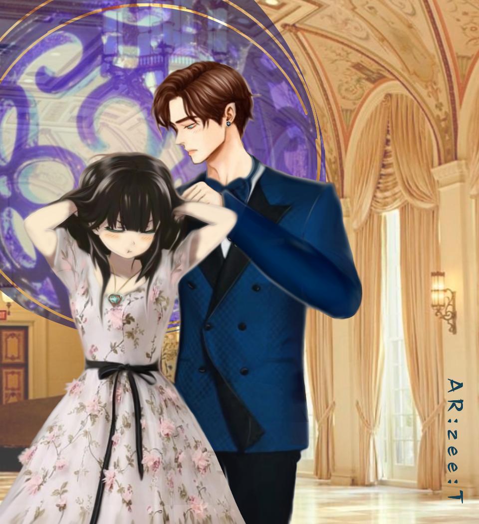 Token of Love? or Shackle?! Illust of Ar:Zee:T July2020_Contest:Anniversary art iPad_raffle demon vampire love anime illustration oc medibangpaint