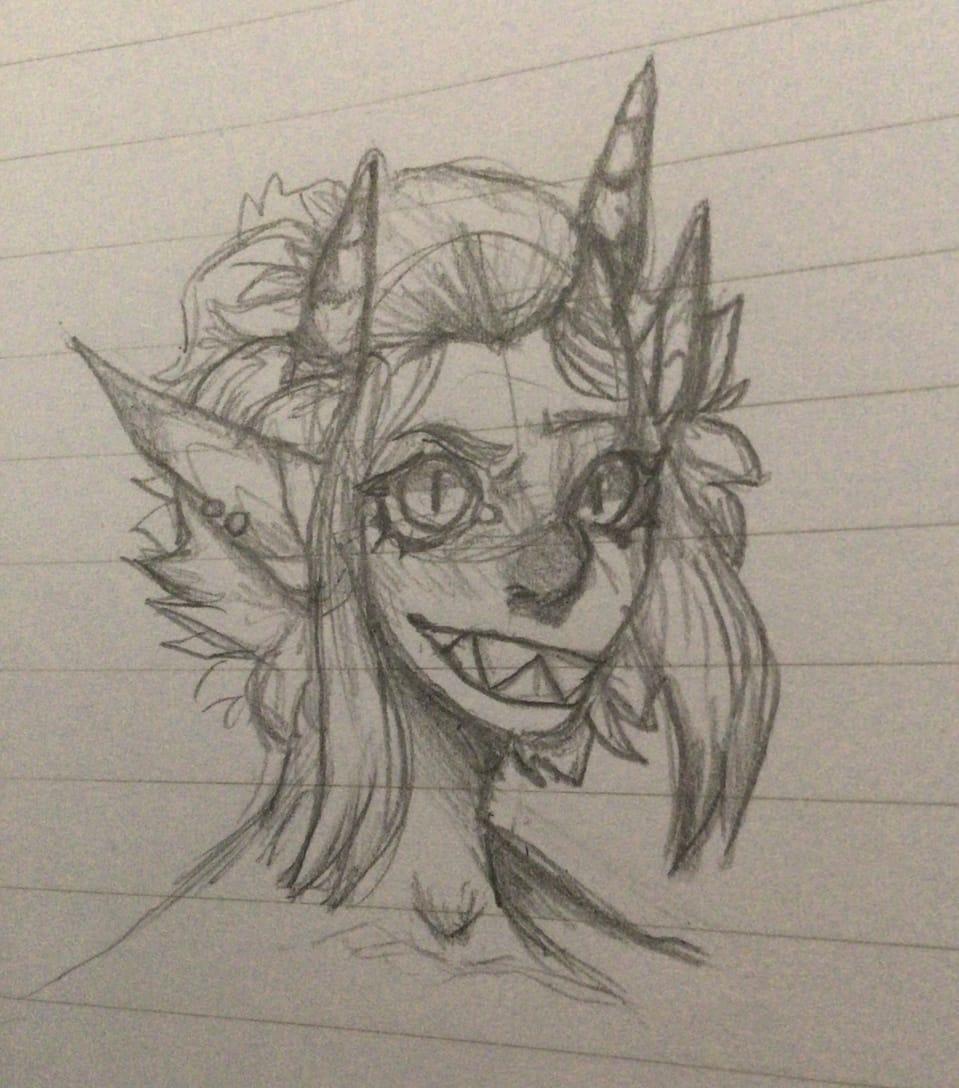Human thingie? Elf?? Idk  Illust of Sleepyxx (INACTIVE)