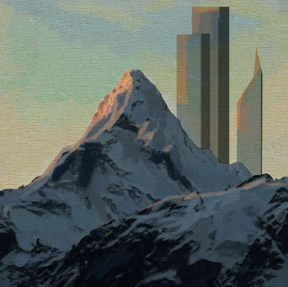 Illust of kathmandumallahonaam medibangpaint scenery 山