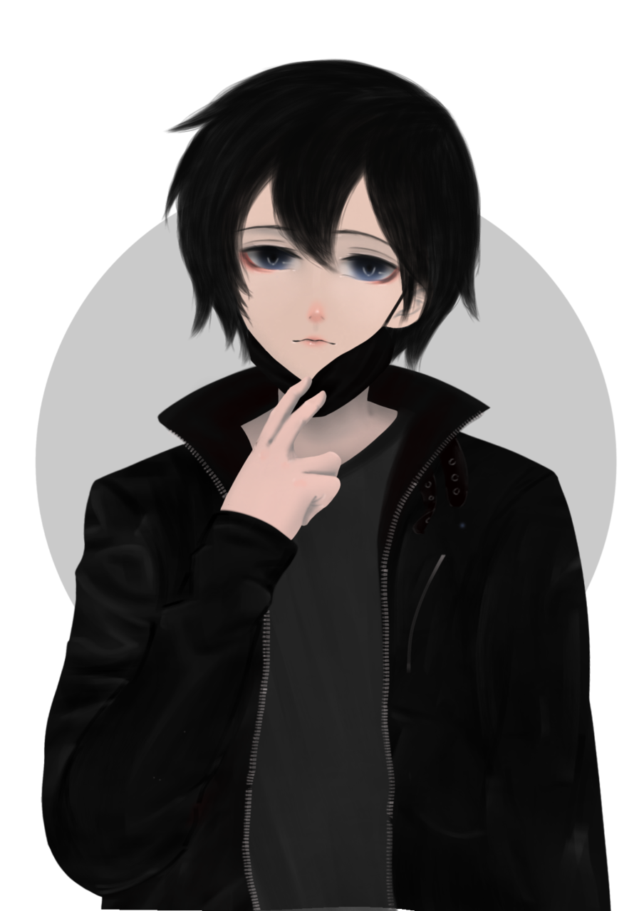 Illust of Saito ARTstreet_Ranking black anime Saitobigay Sword_Art_Online cool male Kirito