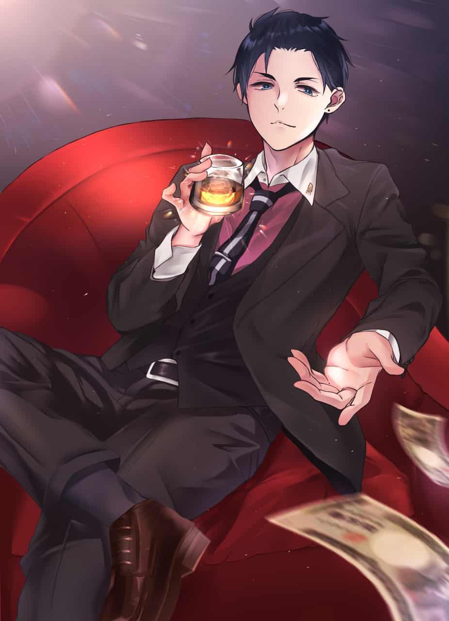 大助様(*´∀`) Illust of ミドリ 富豪刑事 fanart 神戶大助 suit