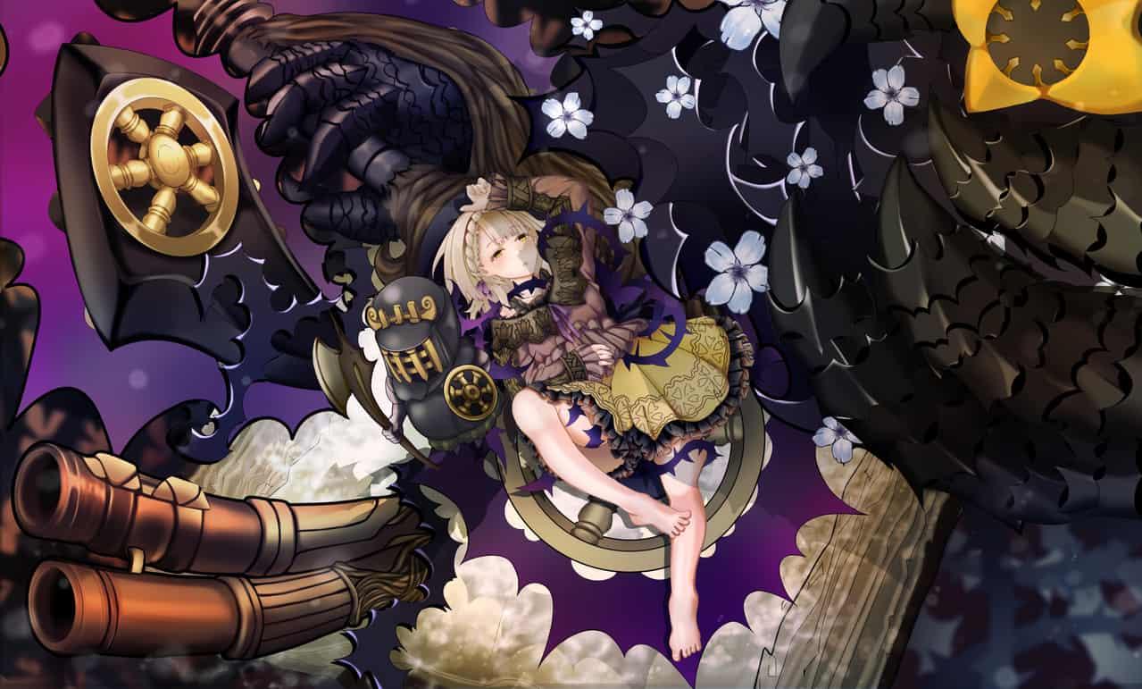 Sleeping Beauty SINoALICE Illust of nian fuwa sci-fi fantasy princess SINoALICE fanart sleepingbeauty Beauty fairytale ibarahime Sleeping いばら姫