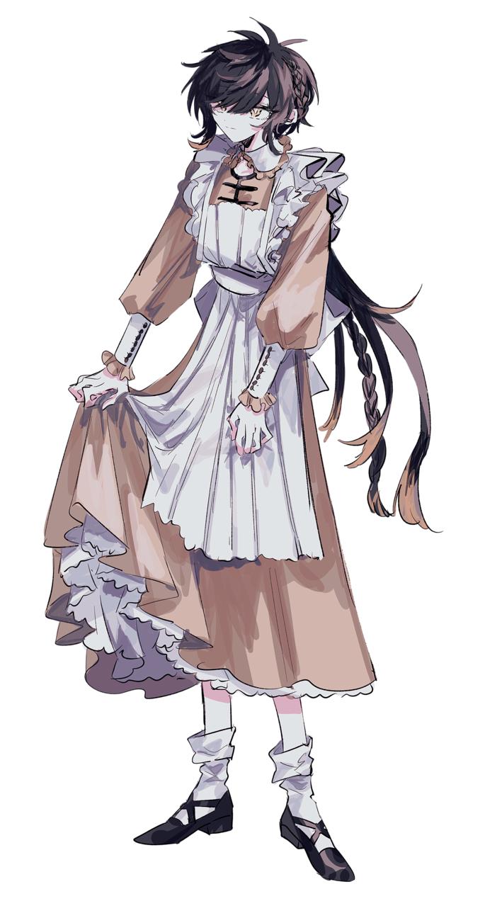 Illust of inue 女体化 genderswap GenshinImpact