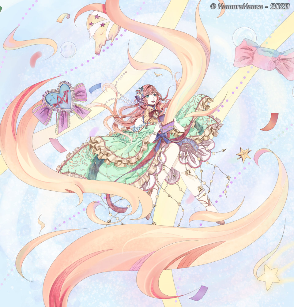 Color Box Illust of HomuraHanzo April.2020Contest:Color medibangpaint