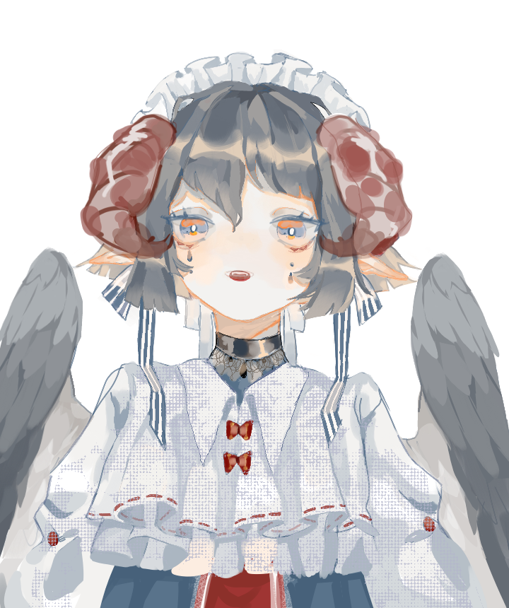 🎀 Illust of Blue salmon medibangpaint wings horn