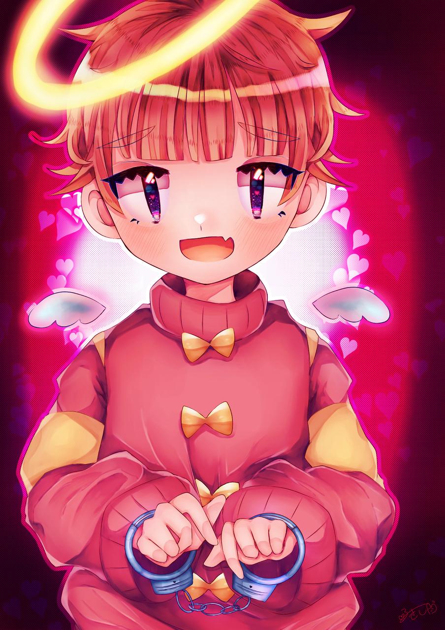 天使くん Illust of カツシカルキコ original angel boy ショタ oc