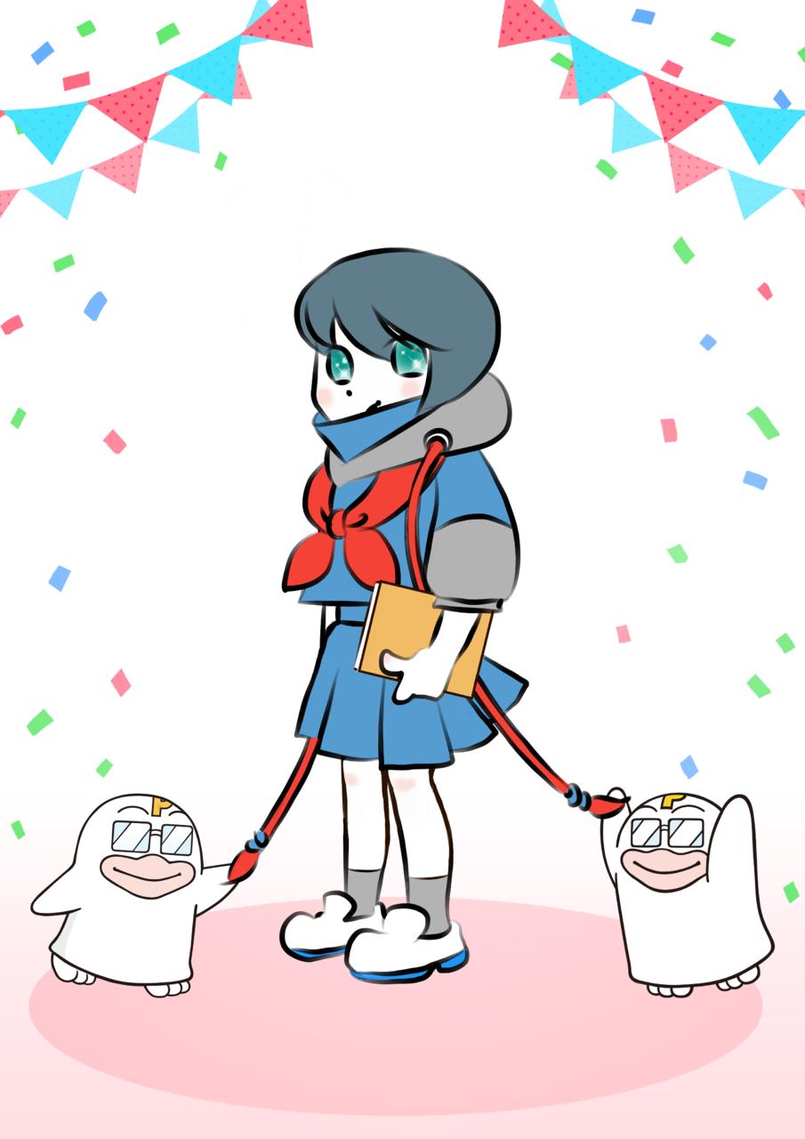 15歳設定 Illust of 針井 PICO公式キャラクターPICOQガールフレンド大募集!!コンテスト