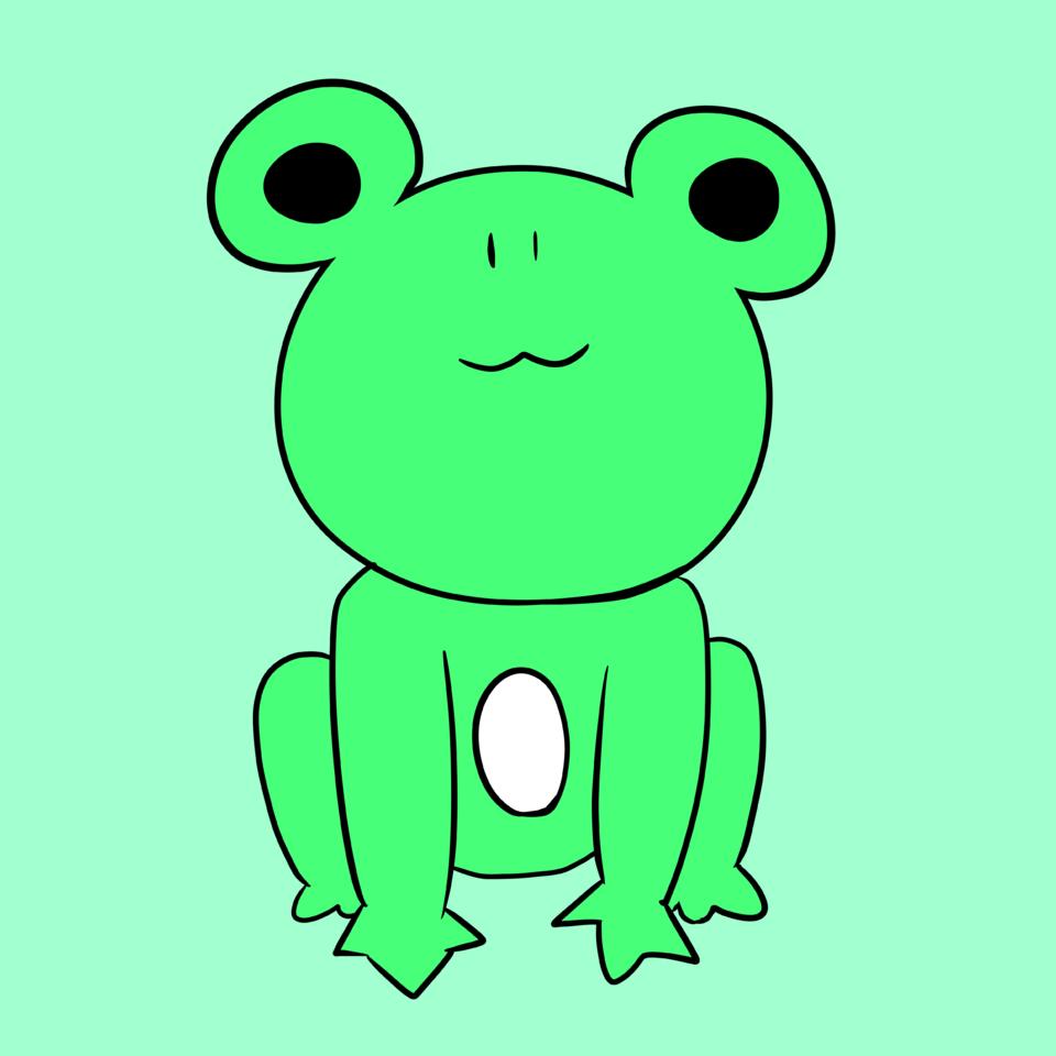 カエル Illust of けいみり medibangpaint animal kawaii doodle Frog
