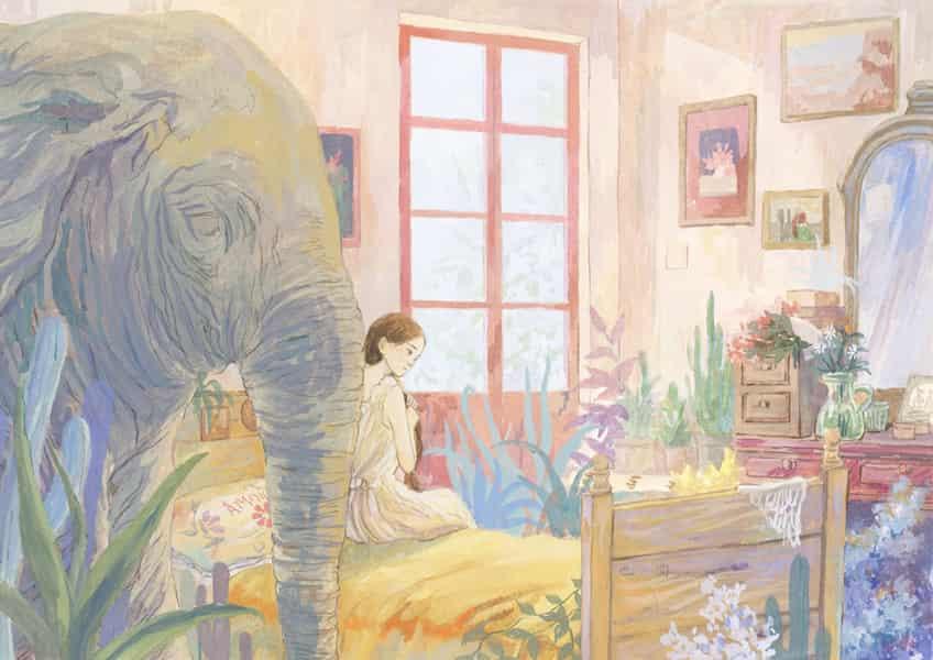 屋中象 Illust of yeyuan fantasy