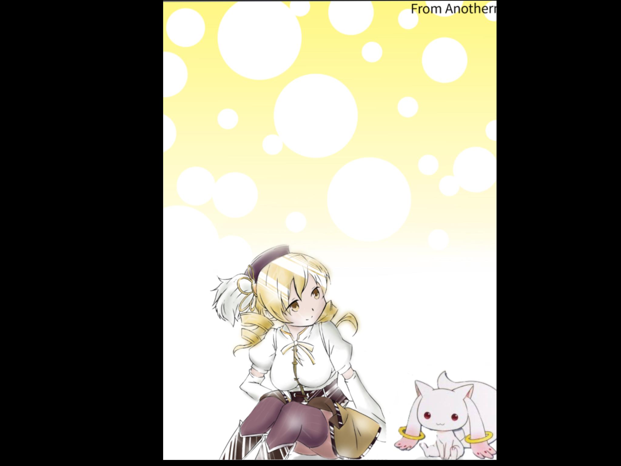 魔法少女まどか マギカ 巴マミ 壁紙イラスト Renoah Illustrations