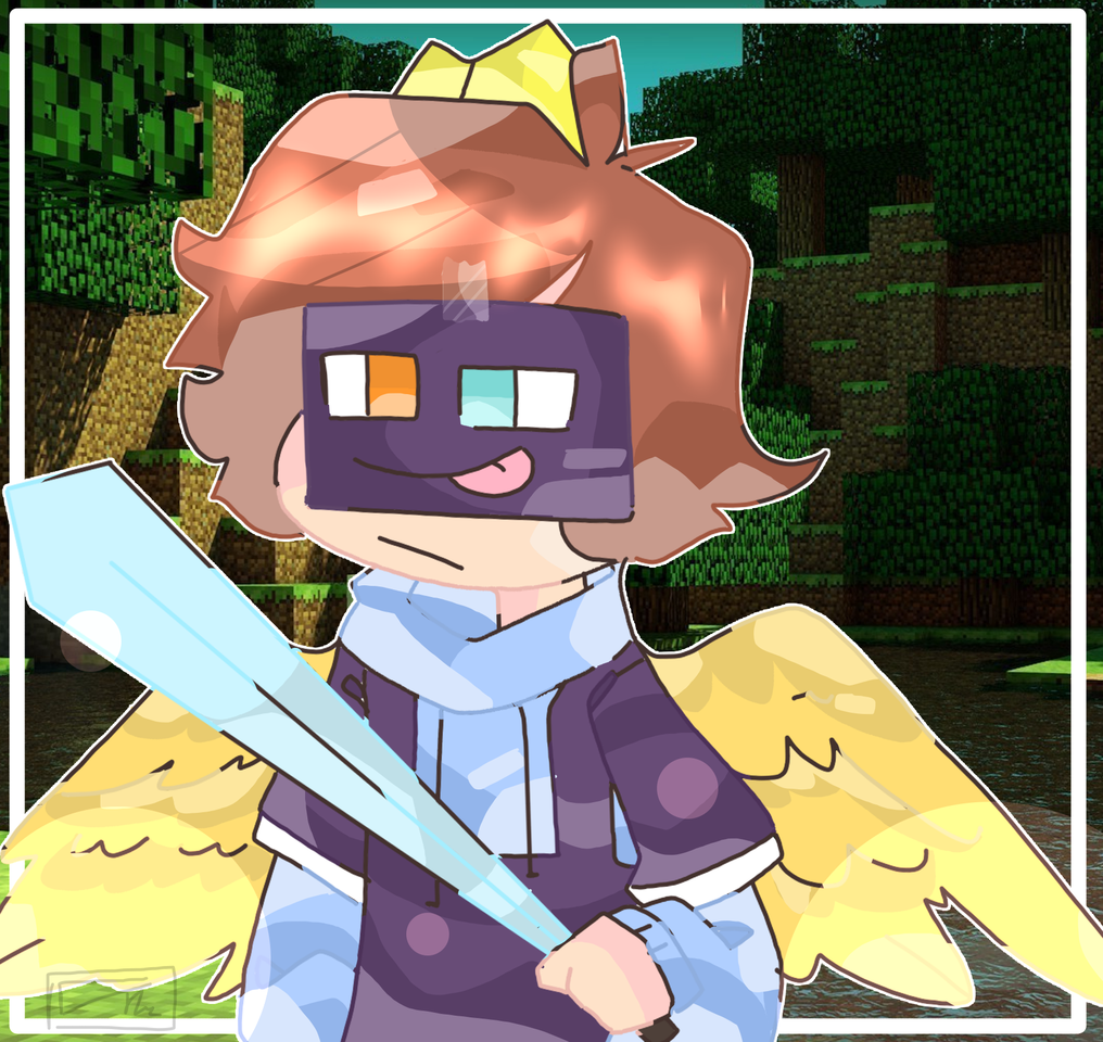 for milo terbaik  Illust of mint mochi medibangpaint fanart MiloTerbaik Minecraft