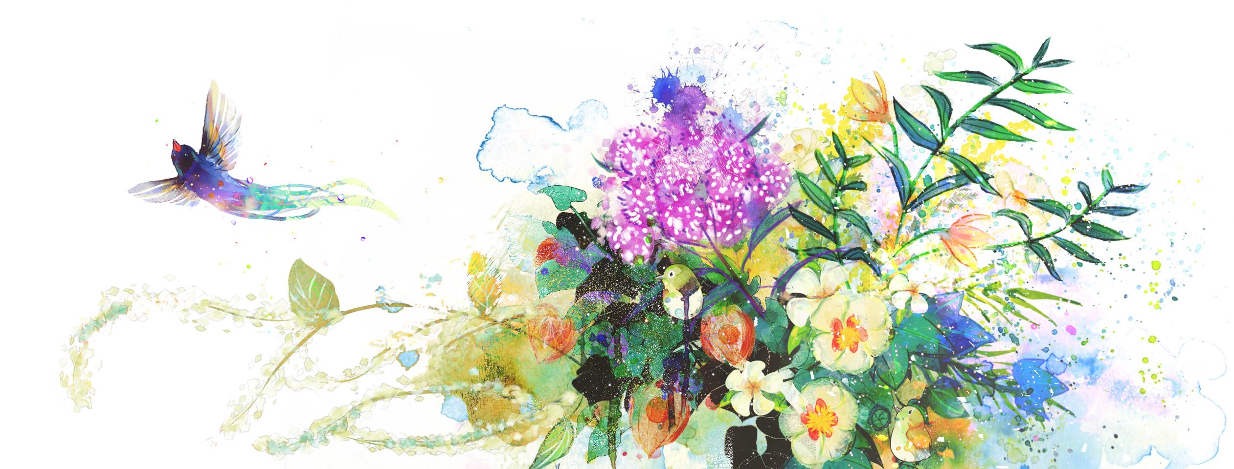 花鳥風月 Illust of RanYA April2021_Flower