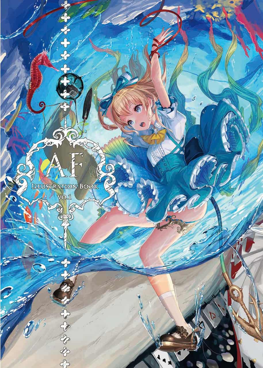 C95 Illust of yu-ri girl original
