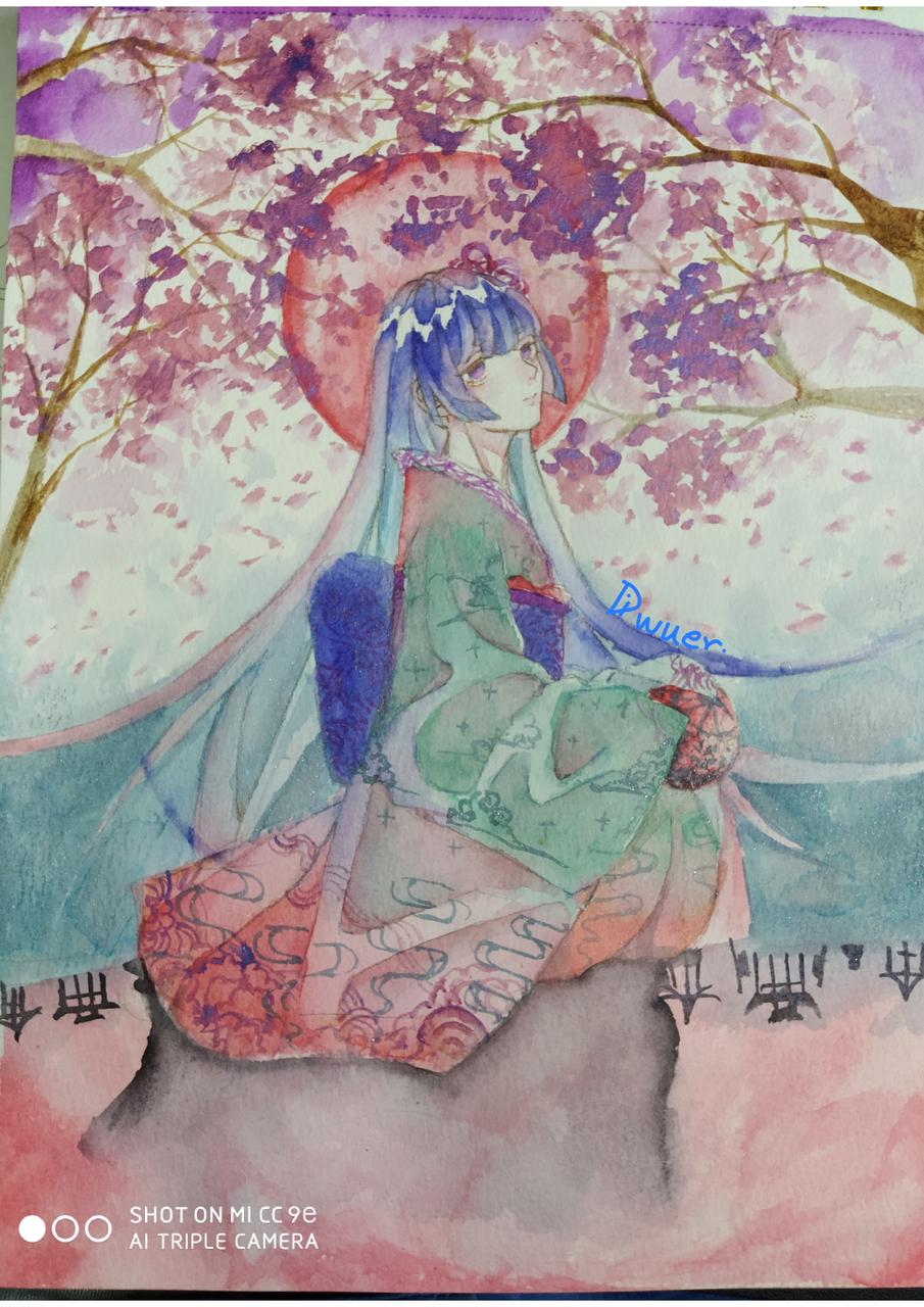 作业 Illust of Diwuer medibangpaint watercolor handdrawn original