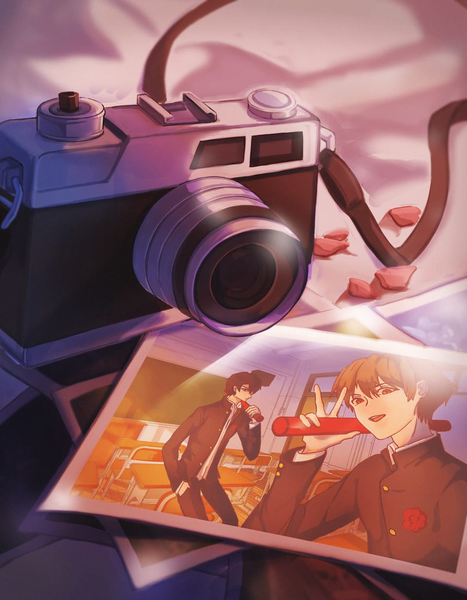 Take A Picture(o゚v゚)ノ Illust of Sago BackgroundImageContest_Using_Division Background_Image_Contest original