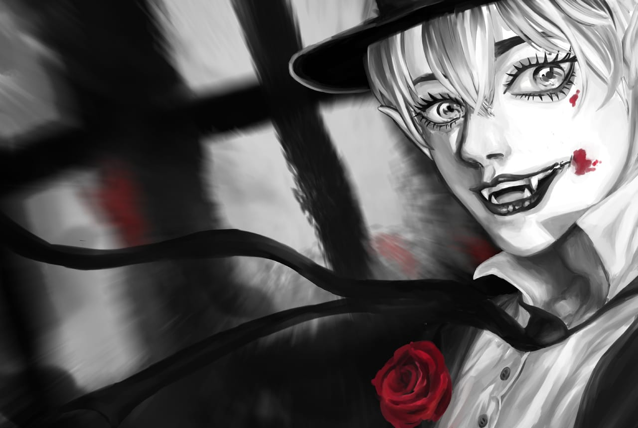 Dark night Illust of 阿墨 ART_street_Illustration_Book_Contest