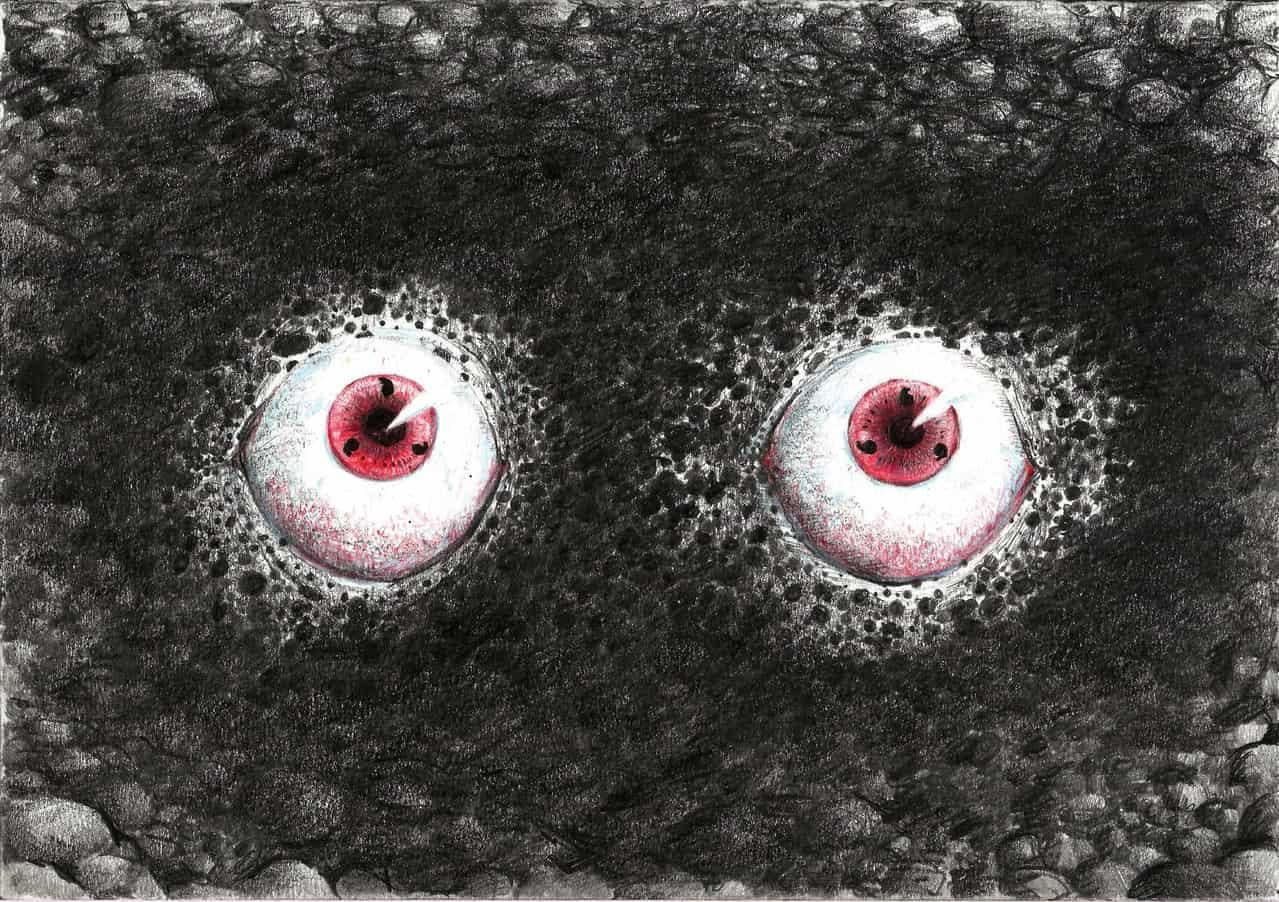 The last eyes Sharingan Illust of esteban Perez Ojeda